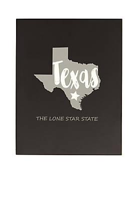 My State Chalkboard - Texas