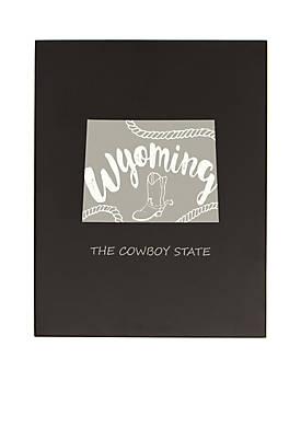 My State Chalkboard - Wyoming