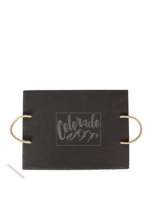 My State Slate Tray - Colorado