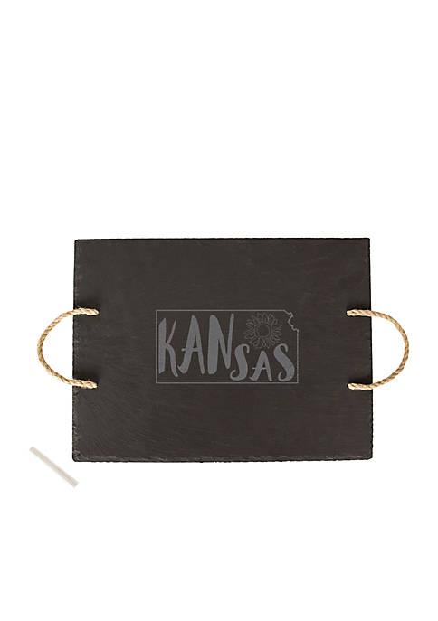 My State Slate Tray - Kansas