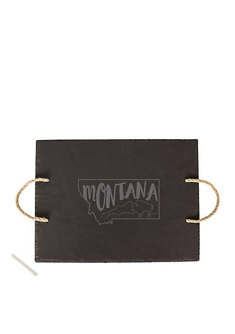 My State Slate Tray - Montana