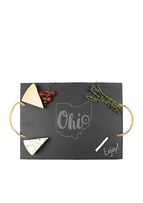 My State Slate Tray - Ohio