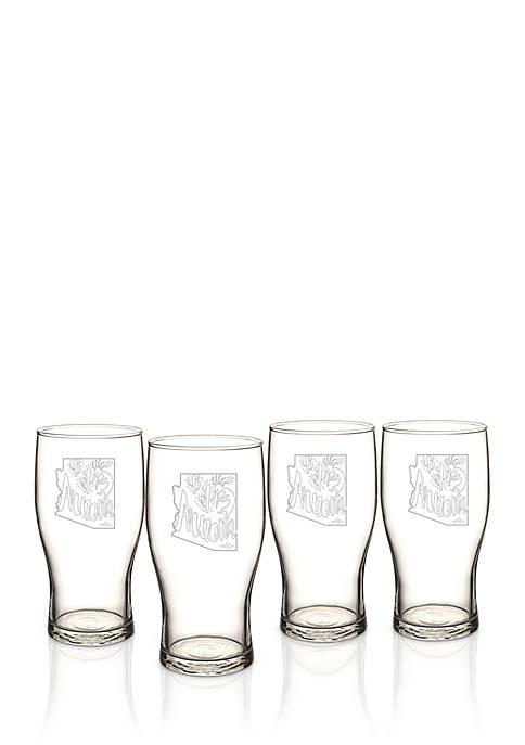 My State Beer Pilsner Glass - Arizona