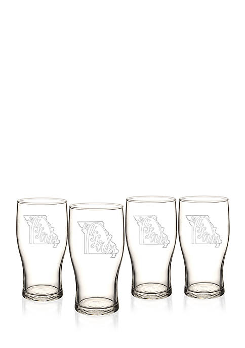 My State Beer Pilsner Glass - Missouri