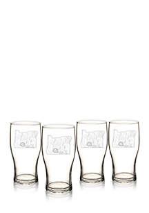 My State Beer Pilsner Glass - Oregon