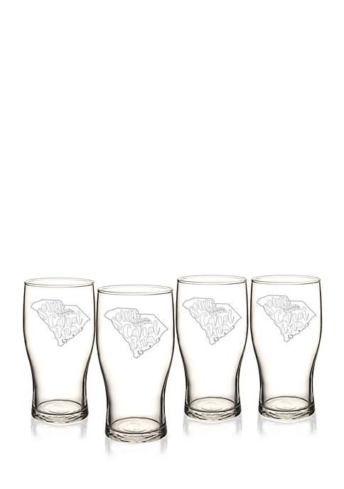 My State Beer Pilsner Glass - South Carolina