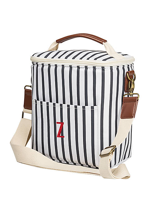 Cathy's Concepts Personalized Navy Stripe Lunch Cooler