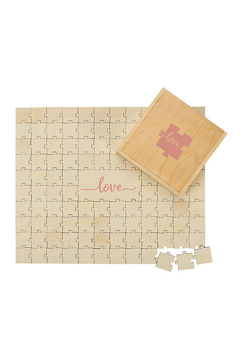 Cathy's Concepts Love Guestbook Puzzle Set