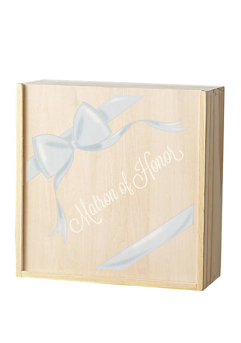 Ribbon Matron of Honor Gift Box Set