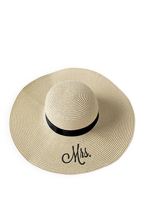 Cathy's Concepts Mrs. Natural Straw Sun Hat