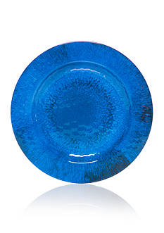 Home Accents® Coral Reef Solid Dinner Plate