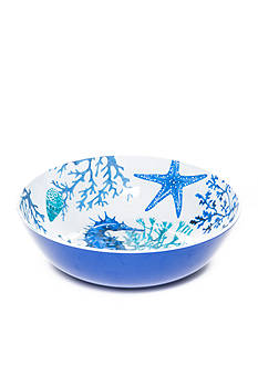 Home Accents® Coral Reef Serving Bowl