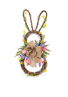 Home Accents® 31-in. Bunny Wreath