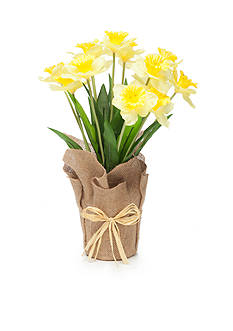 Home Accents® 21-in. Faux Daffodil
