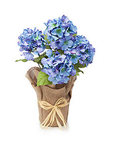 Home Accents® 21-in. Faux Hydrangea
