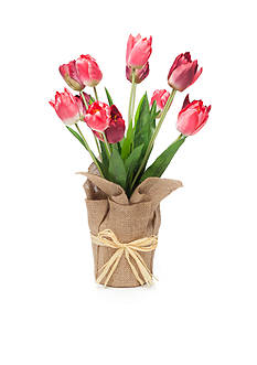 Home Accents® 21-in. Faux Tulip