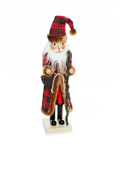 Home Accents® Country Christmas 24-in. Woodland Nutcracker