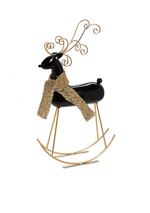 Home Accents® Joyeux Noel Rocking Deer Decor