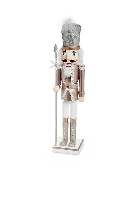 Home Accents® All That Glitters Metallic Soldier Nutcracker