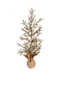 All That Glitters 30-in. Medium Metallic Tree