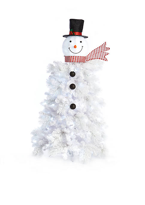 Home Accents® 5-ft. Pre-Lit Snowman Figural Tree