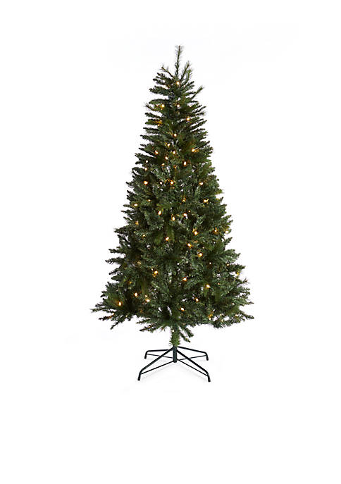 Home Accents® 7.5-ft. Pre-Lit Mixed Tip Montreal Pine