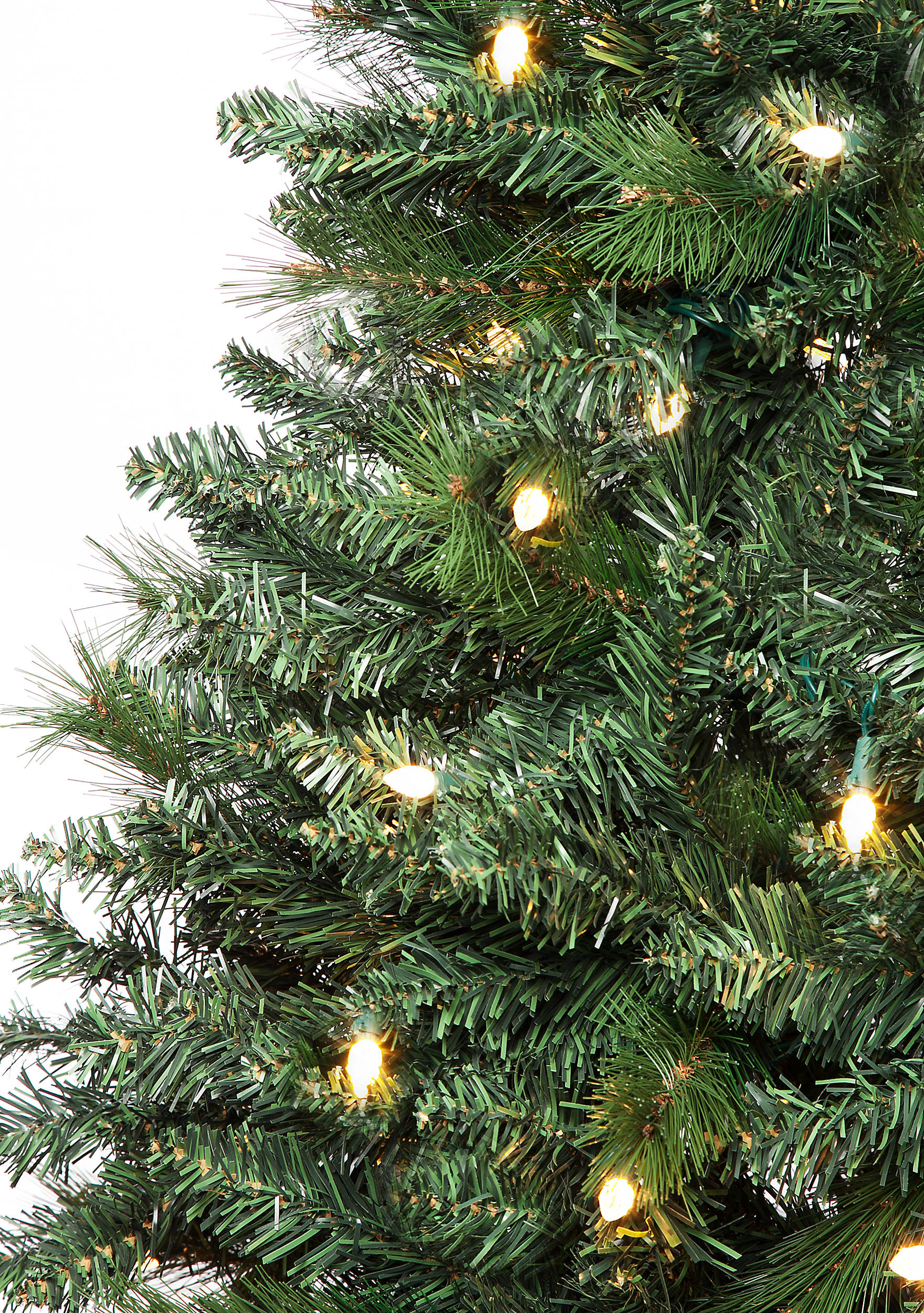 Home Accents® 7.5-ft. Pre-Lit Mixed Tip Montreal Pine Green Tree   belk