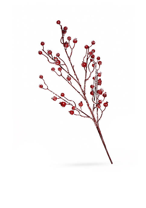 Home Accents® Country Christmas Red Berries Pick, Set