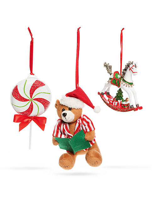 Home Accents® Santa Stop Here Belkie Bear &