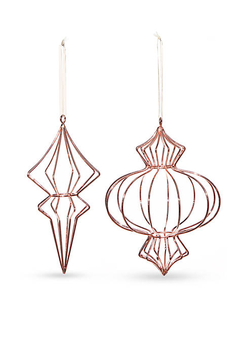 Home Accents® All That Glitters Copper Wire Ornament,