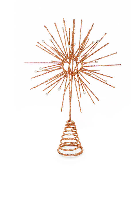 Home Accents® All That Glitters Rose Gold Starburst