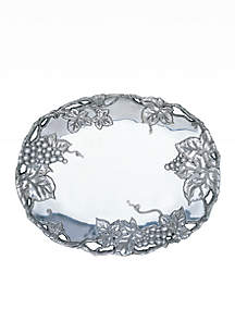 Grape Oval Platter