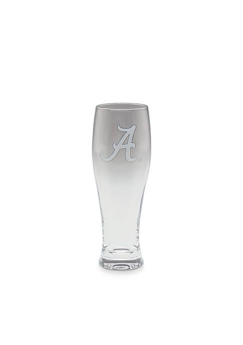 NCAA Alabama Crimson Tide Pilsner Glass