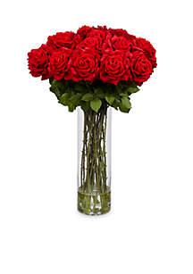 Giant Rose Silk Flower Arrangement