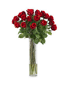 Nearly Natural Rosebud With Cylinder Silk Flower Arrangement