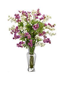 Dancing Daisy Silk Flower Arrangement