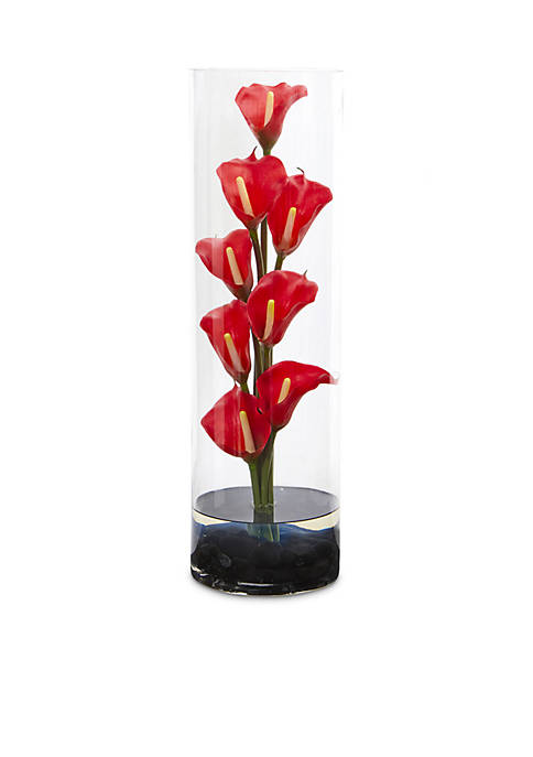 Nearly Natural 20-in. Calla Lily Artificial Arrangement
