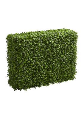 Nearly Natural Boxwood Hedge Indoor Outdoor