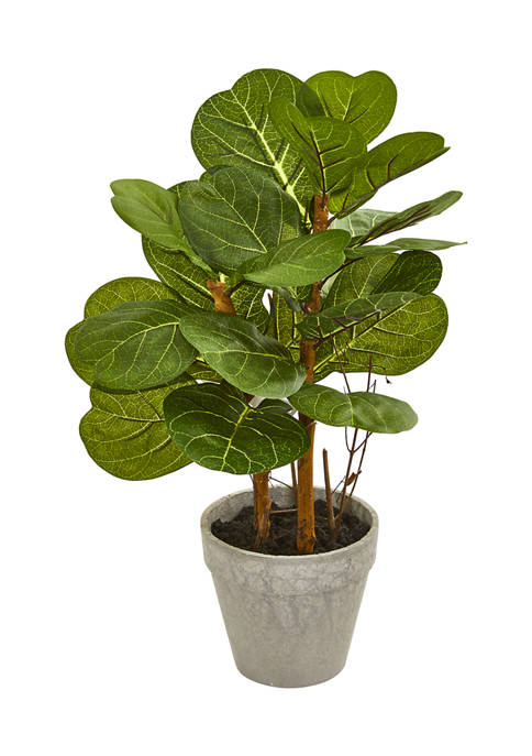 Nearly Natural Fiddle Leaf Plant