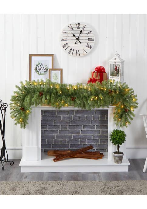 Nearly Natural Christmas Pine Garland