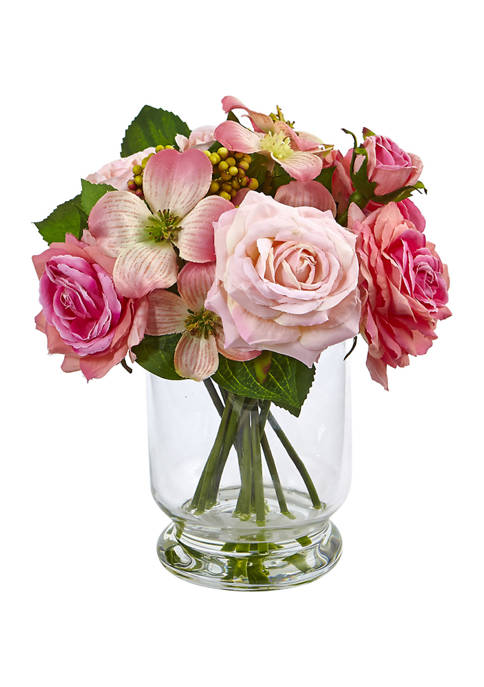Rose and Berry Arrangement