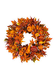 28-in. Harvest Wreath