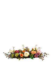 Peony Silk Flower Centerpiece