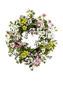 20-in. Dogwood Wreath