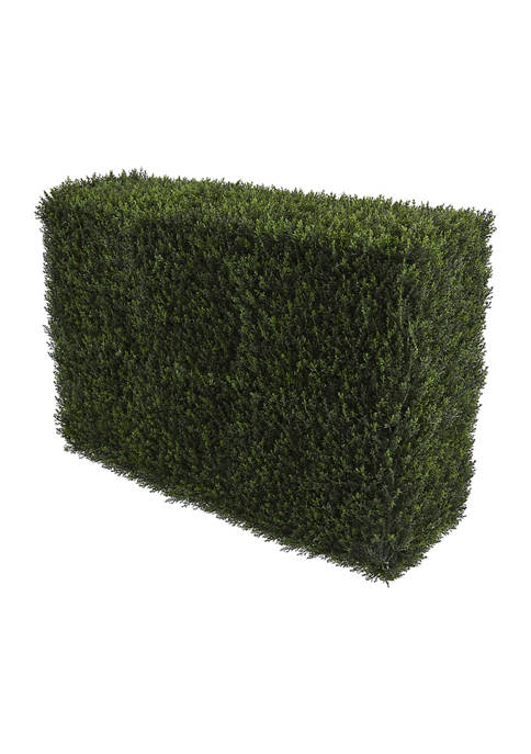 Nearly Natural Decorative Cedar Hedge Indoor/Outdoor