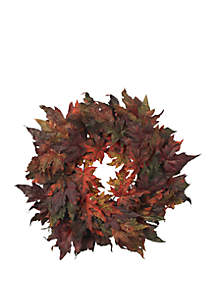 30 in Maple Leaf Wreath