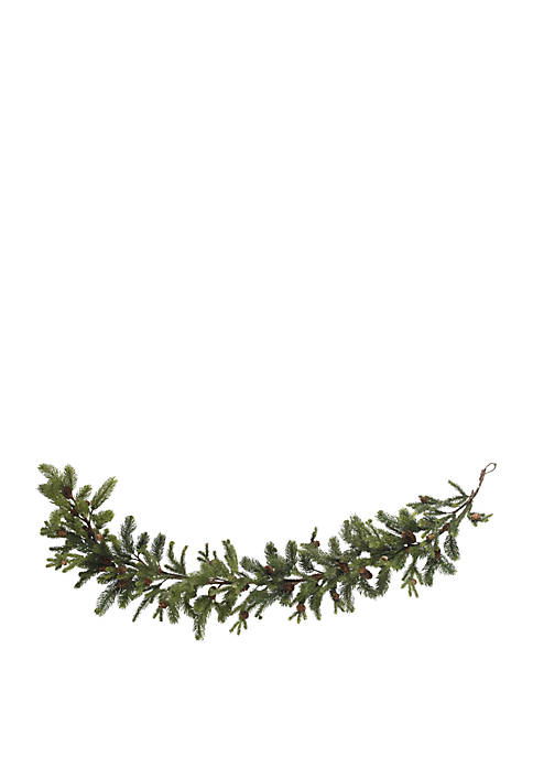 Nearly Natural 60 in Pine & Pinecone Garland