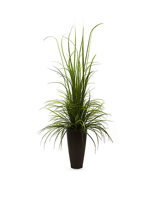 Nearly Natural 64-in. River Grass W/Planter (Indoor/Outdoor)