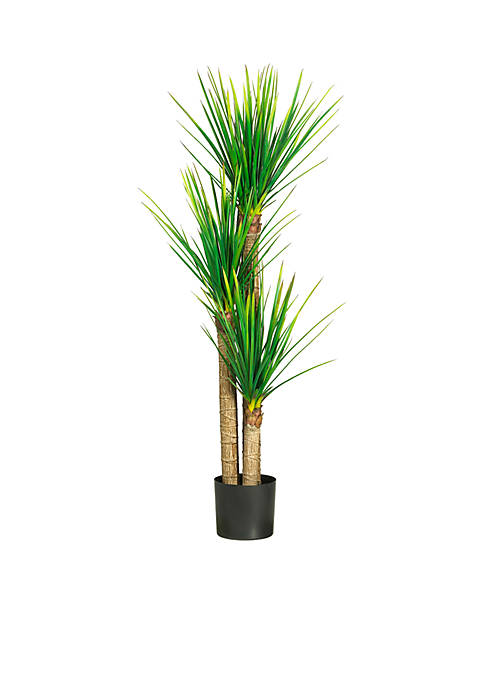 Nearly Natural 58.5-Inch Yucca Silk Tree