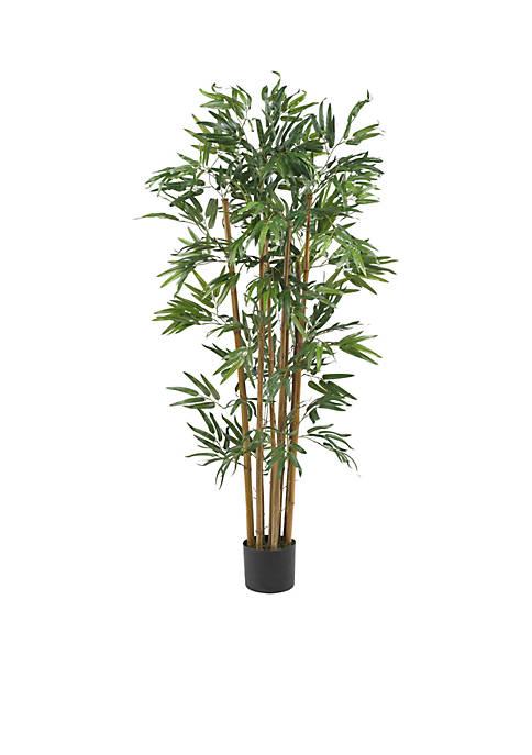 Nearly Natural 4-Foot Multi Bambusa Bamboo Silk Tree